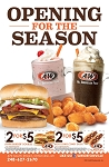 A&W Opening for the Season