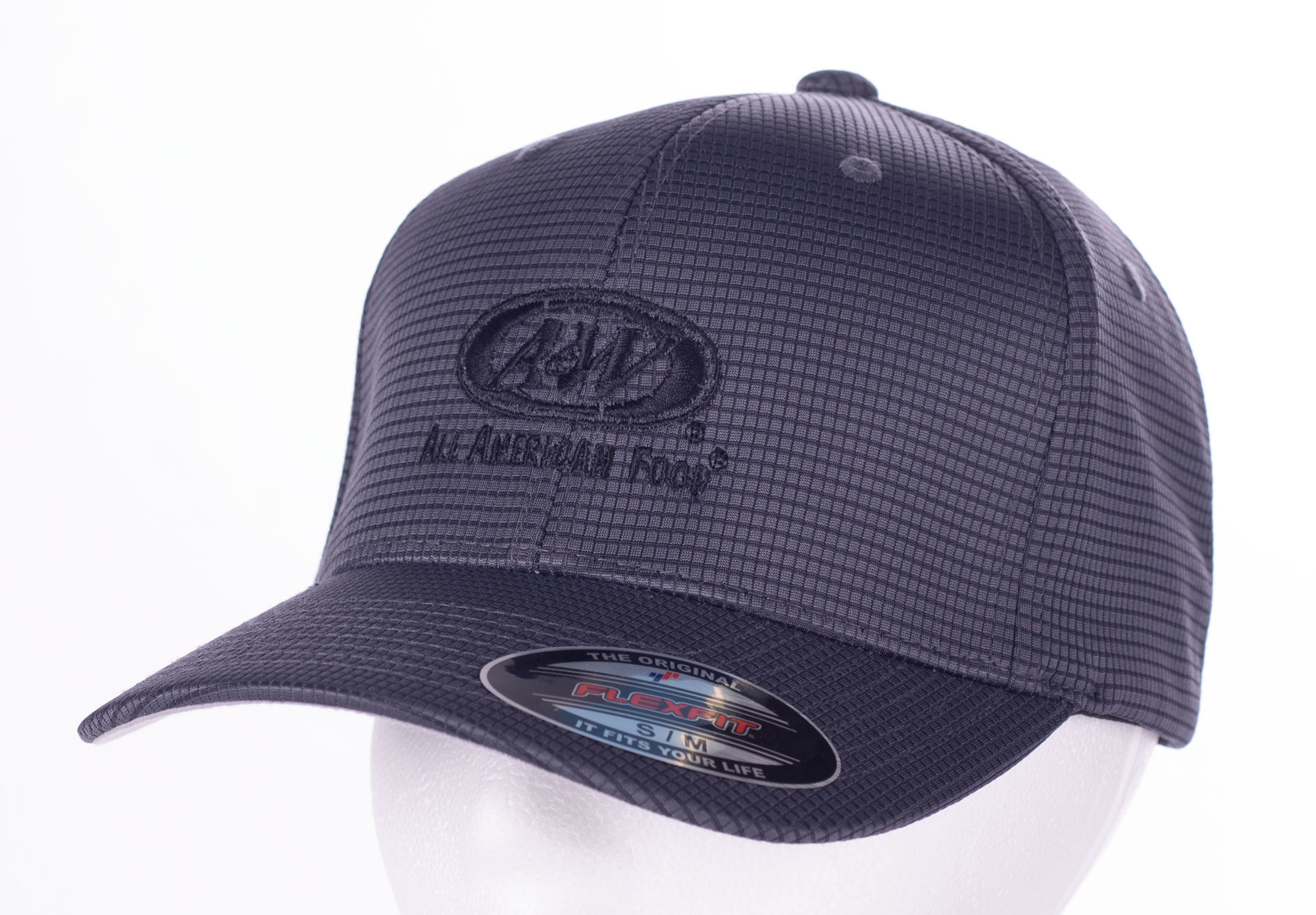 A&W Flexfit Grid Textured Cap