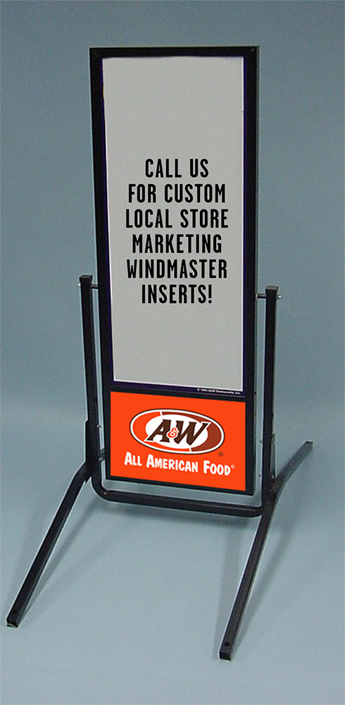 A&W Curbstand Hardware