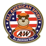 A&W Bear Spirit Pin