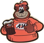 A&W Rooty Thumbs-Up Pin