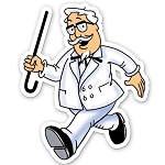 KFC Animated Colonel Pin