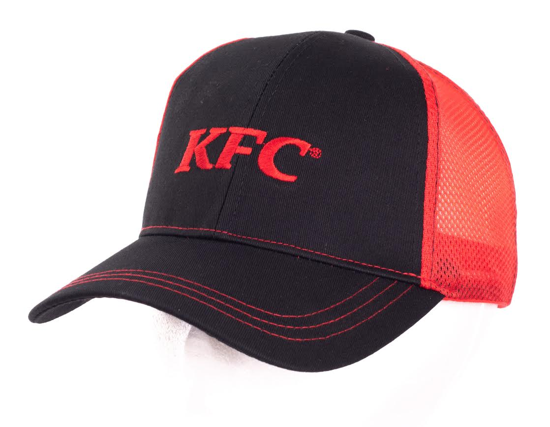 KFC Mesh Back Black Cap