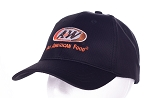 A&W Uniform Black Cap