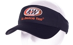 A&W Uniform Black Visor