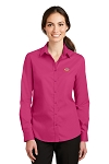 A&W Port Authority® Ladies SuperPro™ Twill Shirt