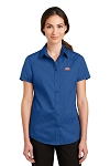 A&W Port Authority® Ladies Short Sleeve SuperPro™ Twill Shirt