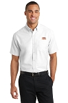 A&W Port Authority® Mens Short Sleeve SuperPro™ Oxford Shirt