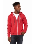 KFC Bella + Canvas Unisex Poly-Cotton Sponge Fleece Full-Zip Hooded Sweatshirt