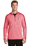 KFC Sport-Tek® PosiCharge® Electric Heather Colorblock 1/4-Zip Pullover