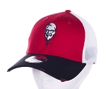 KFC New Era® Showman Red Distressed Mesh Cap