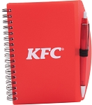 KFC Spiral Notepad with Pen