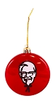 KFC Colonel Christmas Ornament