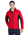 KFC Spyder Mens Constant Full-Zip Sweater Fleece Jacket