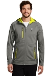 KFC Eddie Bauer® Mens Sport Hooded Full-Zip Fleece Jacket