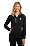 KFC Eddie Bauer® Ladies Sport Hooded Full-Zip Fleece Jacket