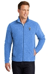KFC Port Authority® Mens Heather Microfleece Full-Zip Jacket