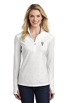 KFC Sport-Tek® Ladies Sport-Wick ® Stretch Reflective Heather 1/2-Zip Pullover