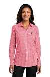 KFC Port Authority ® Ladies Broadcloth Gingham Easy Care Shirt