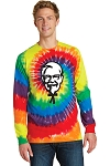 KFC Port & Company® Tie-Dye Long Sleeve Tee