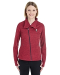 KFC North End Ladies Amplify Mélange Fleece Jacket