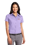 A&W Port Authority® Ladies Short Sleeve Twill