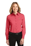 A&W Port Authority® Ladies Long Sleeve Twill