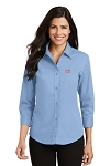 A&W Port Authority® Ladies 3/4 Sleeve Twill
