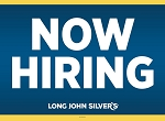 LJS Now Hiring Yard Sign