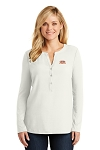A&W Port Authority® Ladies Concept Henley Tunic