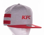 KFC New Era® Shadow Heather Striped Flat Bill Snapback Cap