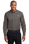 A&W Port Authority® Mens Long Sleeve Twill