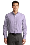 KFC Port Authority® Mens Plaid Pattern Easy Care Shirt