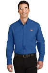 A&W Port Authority® Mens Long Sleeve Superpro Twill