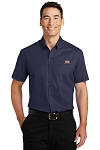 A&W Port Authority® Mens Short Sleeve Superpro Twill
