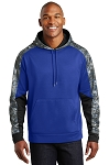 KFC Sport-Tek® Sport-Wick® Mineral Freeze Fleece Colorblock Hooded Pullover