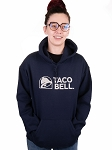 Taco Bell Unisex Glitter Hoodie
