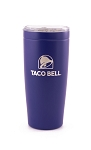 Taco Bell PURPLE VIKING TUMBLER 20 OZ