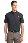 A&W Port Authority® Mens Tall Short Sleeve Twill