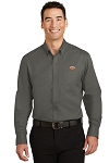 A&W Port Authority® Mens Tall SuperPro™ Twill Shirt