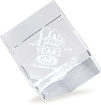 A&W 100th Anniversary Crystal Cube