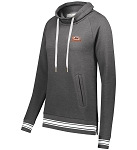 A&W LADIES IVY LEAGUE FUNNEL NECK PULLOVER