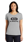 A&W Ladies Sport-Tek® PosiCharge® Competitor™ Cotton Touch™ Tee