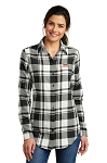 A&W Port Authority® Ladies Plaid Flannel Tunic