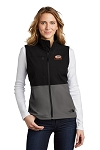 A&W The North Face® Ladies Castle Rock Soft Shell Vest