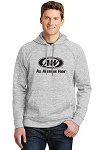 A&W Sport-Tek® PosiCharge® Electric Heather Fleece Hooded Pullover