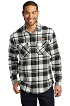 A&W Port Authority® Mens Plaid Flannel Tunic