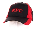 KFC Black & Red Dry-Wicking Cap
