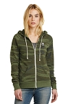 KFC Alternative Women's Adrian Eco™ -Fleece Zip Hoodie