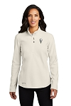 KFC Eddie Bauer® Ladies 1/2-Zip Microfleece Jacket